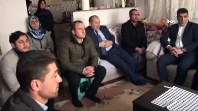 polis -  Ümraniye Belediye Başkan adayı Yıldırım, Afrin şehidinin ailesini ziyaret etti