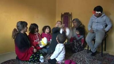 9 çocukla tek göz odada yaşam mücadelesi...Tek istekleri sıcak bir yuva