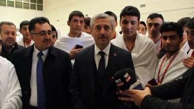 kutsal topraklar - Belediyeden lise öğrencilerine umre ödülü - GAZİANTEP