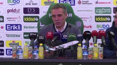 Bursaspor-Fenerbahçe maçının ardından - Ersun Yanal (2) - BURSA