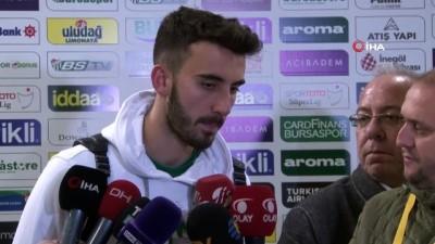 yildiz futbolcu - Bursasporlu futbolculardan Fenerbahçe maçı değerlendirmesi