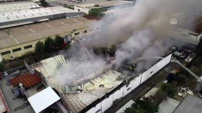 Çiğli'de fabrika yangını (1) - İZMİR