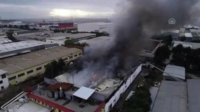 Çiğli'de fabrika yangını (2) - İZMİR