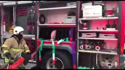Çiğli'de fabrika yangını kontrol altına alnıdı (4) - İZMİR