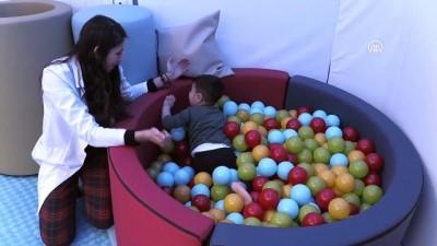Çocuklar eğlenirken tedavi ediliyor - NİĞDE