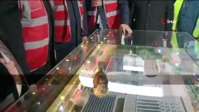 Dışişleri Bakanı Çavuşoğlu ve İBB Başkanı Uysal, BM Gençlik Merkezi inşaatını inceledi