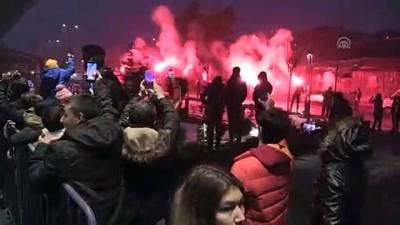 Galatasaray kafilesi, Bolu'da