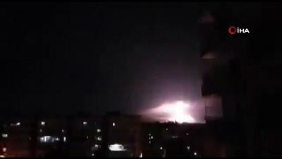 hava kuvvetleri -  -İsrail'den Suriye'ye Hava Saldırısı