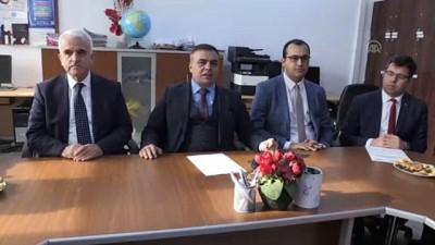 Karaman'da hükümlüler okulları onarıyor