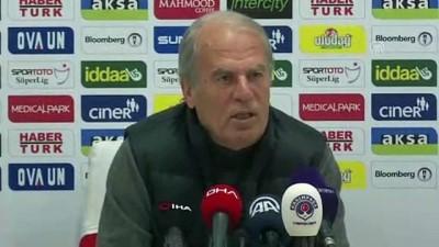 Kasımpaşa-Çaykur Rizespor maçının ardından - Mustafa Denizli - İSTANBUL