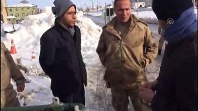 Sivas'ta telef olan kurt otopsiye gönderilecek