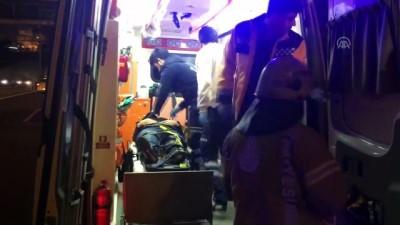polis - Üsküdar'da trafik kazası: 1 yaralı - İSTANBUL Video