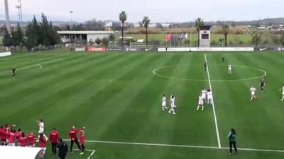 A Milli Kadın Futbol Takımı, hazırlık maçında Slovakya ile karşılaştı - ANTALYA