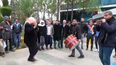 AK Parti Siverek Belediye Başkan adayına görkemli karşılama
