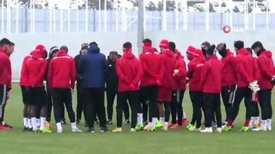 ulfet - Sivasspor'da, Trabzonspor maçı hazırlıkları başladı