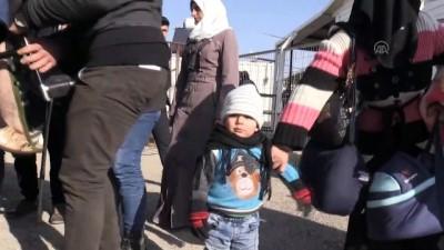 Suriyeliler ülkelerine dönüyor - KİLİS