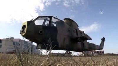 TSK, İskenderun Teknik Üniversitesine helikopter hibe etti - HATAY