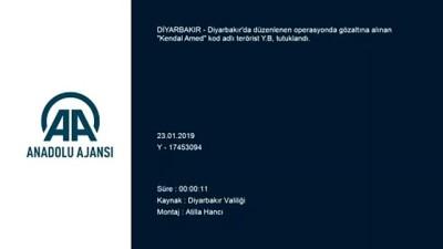 akalan - Diyarbakır'da PKK'lı terörist yakalandı İzle