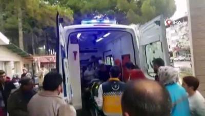 isci servisi -  Selendi'deki işçi servisi kazası: 1 ölü, 19 yaralı