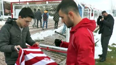 Sivasspor'da Trabzonspor maçı hazırlıkları - SİVAS