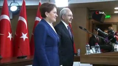 CHP ve İYİ Parti arasında mutabakata varıldı
