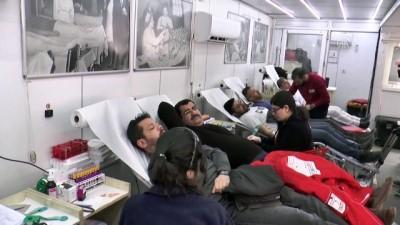 Şırnak'ta kan bağışı kampanyasına büyük ilgi
