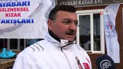 Artvin Atabarı Geleneksel 1. Kızak Yarışları yapıldı