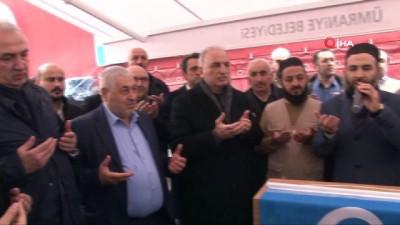 Ümraniye Belediye Başkan Adayı Yıldırım, Suriye'ye gönderilen yardımı tırını uğurladı