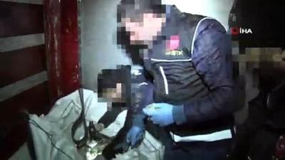 Cumhuriyet tarihine geçen Erzurum'daki uyuşturucu operasyonunun görüntüleri ortaya çıktı