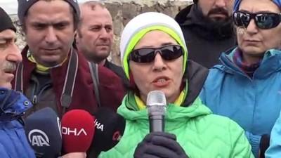 cig dusmesi - Zigana Dağı'nda ölen 10 dağcı anıldı - GÜMÜŞHANE