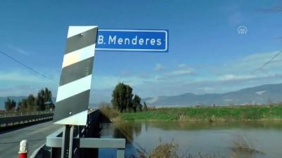 su taskini - Büyük Menderes Nehri taştı, ekili alanlar su altına kaldı - AYDIN