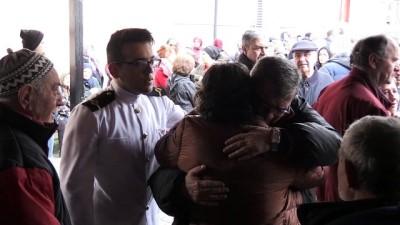 Gemi yangınında hayatını kaybedenler son yolculuğuna uğurlanıyor - Vardiya zabiti Yüce Karanki'nin cenazesi - YALOVA