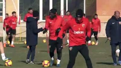 Kayserispor'da Malatyaspor maçı hazırlıkları - KAYSERİ