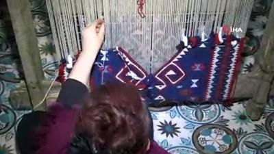 Unutulmaya yüz tutmuş Jirki kilimlerine genç kızlar sahip çıktı