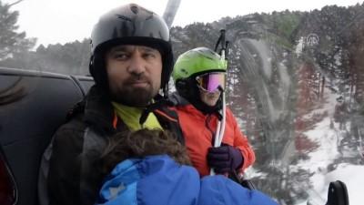 Yalnızçam'da yamaç paraşütü ve kayak keyfi - ARDAHAN