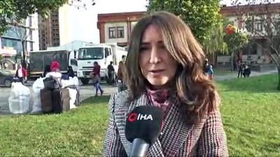 multeci -  150 Suriyeli ülkesinin yolunu tuttu