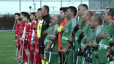 Ampute Futbolda Türkiye-Azerbaycan dostluğu