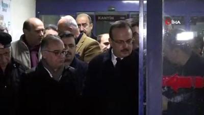 Bursa Valisi Canbolat hastanede taziyeleri kabul etti