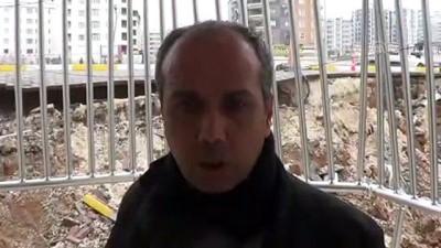 Şanlıurfa'da istinat duvarı çöktü - ŞANLIURFA