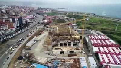 'Doğu Karadeniz'in en büyük cami ve külliyesi' yükseliyor - TRABZON