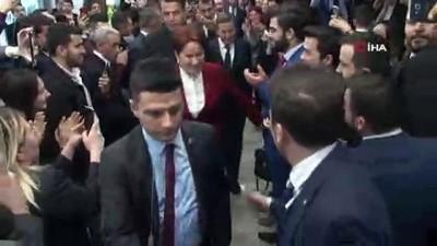 """İYİ Parti Genel Başkanı Akşener: """"Iğdır ve Ahlat'ı HDP'ye bırakmamak için aday çıkarmadık"""""""
