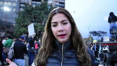 Kolombiya'da Başsavcı Martinez'in istifası için protesto - BOGOTA