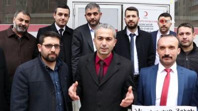 zekat -  Malatya'da kan bağışına destek
