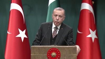Cumhurbaşkanı Erdoğan: 'Afganistan, Pakistan ve Türkiye arasındaki üçlü zirvesini büyük ihtimalle 31 Mart seçimlerinin ardından İstanbul'da gerçekleştireceğiz' - ANKARA