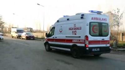 Iğdır'da terör saldırısı - Hastane önü