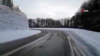 kar manzaralari -  Kırklareli'nde kar yağışı