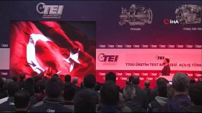 Sanayi ve Teknoloji Bakanı Varank: 'Testini gerçekleştirdiğimiz ilk milli helikopter motorumuz, Cumhurbaşkanımızın ismini koyduğu Gökbey'e güç verecek'