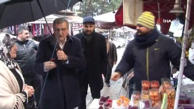 Başkan Murat Aydın Beykoz'da aile kabristanlığını ve Hz. Yuşa türbesini ziyaret etti