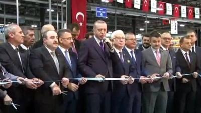 """Cumhurbaşkanı Erdoğan: """"Bugünleri özel sektörle birleşerek yakaladık"""""""