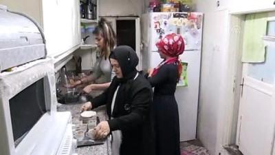 Eltilerinin desteğiyle hayata tutundu - GAZİANTEP